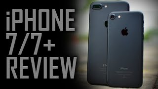 "This review of the iPhone 7 wasn't easy. But did it make me switch from Android to iOS?  Certain features of Android still want me to stick to it. I've been using the Oneplus 3T & the differences between the two in terms of the camera and display are substantial. Looking at how close the iPhone 7 was to make me switch to iOS, I might end up buying the Nest iPhone.* The iPhone 7 Plus has also been referred to in this video with the only difference between the two is the size, camera, and battery.INTERESTED IN BUYING? BEST BUY LINKS BELOW!!!iPhone 7 Matte black 32GB- http://amzn.to/2tFur4UiPhone 7 Jet Black 128GB- http://amzn.to/2sI7AliiPhone 7 Plus Matte Black 32GB- http://amzn.to/2tj8E12iPhone 7 Plus Jet Black 128GB- http://amzn.to/2uFvYp7-----------------------------------------------------------------------------------------------------------------★Hit This Link If You're New!- https://www.youtube.com/bigbadroid?sub_confirmation=1-----------------------------------------------------------------------------------------------------------------★ My Gear-✪My Camera (Nikon D5200)- http://amzn.to/2qKR2tF✪35mm F/1.8 Lens- http://amzn.to/2qfOYMF✪Boom Arm- http://amzn.to/2qqVi35✪Microphone- http://amzn.to/2qqKxxS✪USB Sound Adapter- http://amzn.to/2rpopSn✪Phantom Power- http://amzn.to/2qPZmLw✪Tripod- http://amzn.to/2quwoO6✪Oneplus 3T 64GB- http://amzn.to/2oqk6Vs   Oneplus 3T 128GB- http://amzn.to/2nrYHKI -----------------------------------------------------------------------------------------------------------------★HELP ME GROW BY DONATING-     https://www.patreon.com/bigbadroid★TWITTER: http://www.twitter.com/bigbadroid★FACEBOOK: http://www.facebook.com/bigbadroid★INSTAGRAM: http://www.instagram.com/bigbadroid-----------------------------------------------------------------------------------------------------------------✹CHANNEL SERIES-""SETUP DELUXE"" The name of the new series that i am starting on the channel where I showcase my viewers' PC setups so that the others can get to know about their creativity and hard work a person has put to make their PC setups. To Enter-1. Take a lot of High Definition Images of your setup's components from various angles. Make sure to cover each and everything that contributes to your setup. Minimum resolution- 1080*19202. Prepare a list of what all you have in your setup (Systematically)3. Toss everything into a .zip file.4 Upload the Zip file with all the components to Google Drive and send me the download link on my email- bigbadroid@gmail.com and write the subject of the Email as-""Setup Deluxe Entry- *Your Name*""."