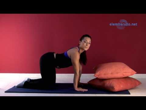 Ejercicio para evitar el dolor de espalda en el embarazo