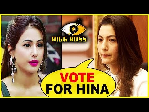 Gauahar Khan Wants Fans To VOTE FOR Hina Khan | Bigg Boss 11