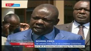 Newsdesk Full Bulletin 27th July 2016 - School Fires Continue