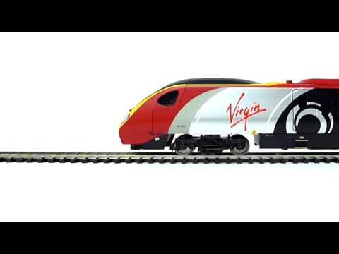 Hornby: Virgin Trains Pendolino Train Set - R1155