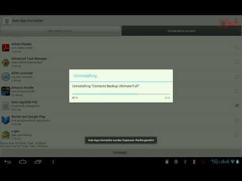 Video of Auto App Uninstaller Full