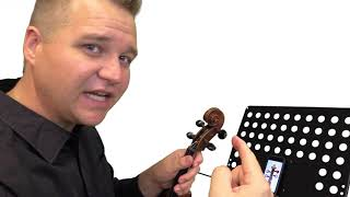 Fiddlerman Violin Tuning Guide App - review by Michael O'Gieblin