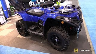 7. 2018 Cfmoto C-Force 400 Recreational ATV - Walkaround - 2017 Toronto Snowmobile ATV Show