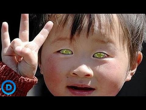 Top 10 đôi mắt độc đáo và kỳ lạ nhất thế giới
