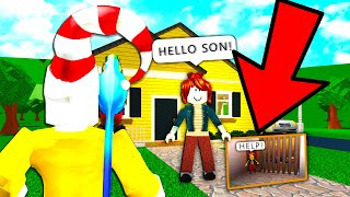 I Was ADOPTED But.. This Mom KIDNAPPED A GOLD DIGGER (Roblox)