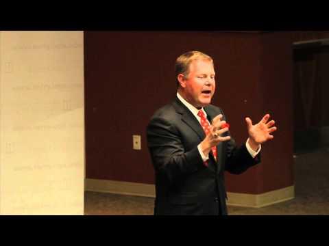 Tim Chapman, CEO von Stadion, spricht UGA Studierende