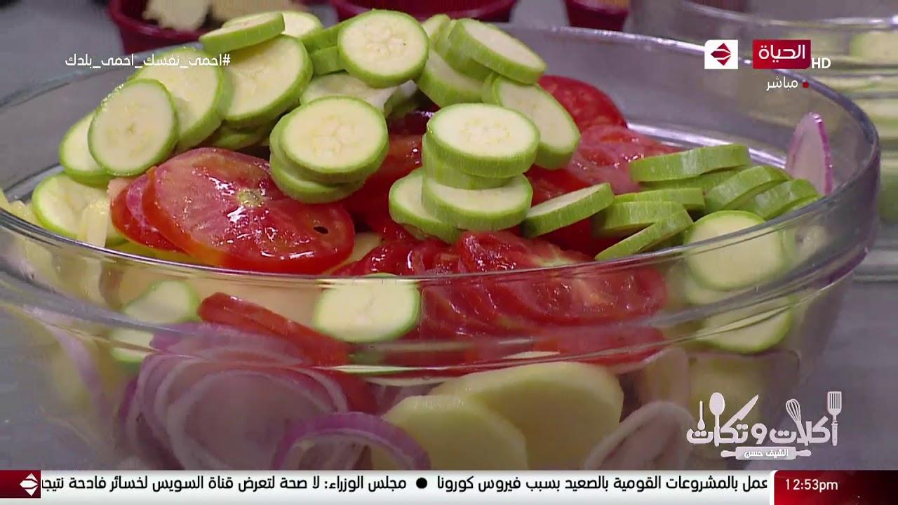 أكلات وتكات - على طريقة الشيف حسن عمل ( شوربة لسان عصفور بكرات اللحم - ورقة لحمة )