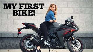 8. Buying a Brand New 2017 Yamaha R3 | My First Motorcycle