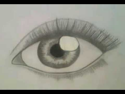 How To Draw Realistic Eye For Beginners (easy, Step By Step)  German With English Subtitels