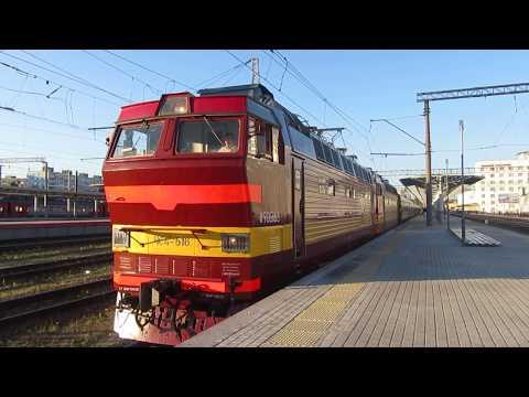 ЧС4Т-516\\262 с поездом\