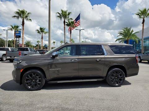 "Chevrolet Suburban 2021, Premier ""Graywood Metallic"" en Español"