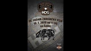 Zabijačka HOG Praha Chapter 2018