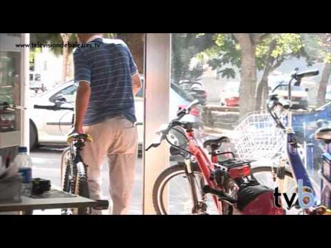Prueba el trasporte ecológico gracias a Cicles Sineu. Televisión de Baleares. (Sineu - Mallorca)