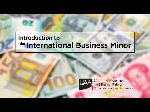 Dr. Prokop introducing the CBPP International Business Minor