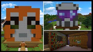 INSIDE YOUTUBERS MINDS [4] | Minecraft Custom Themed Builds