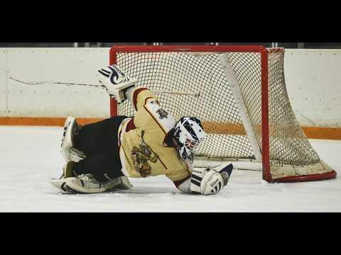 Ice Hockey Photographer's POV with Photo Inserts