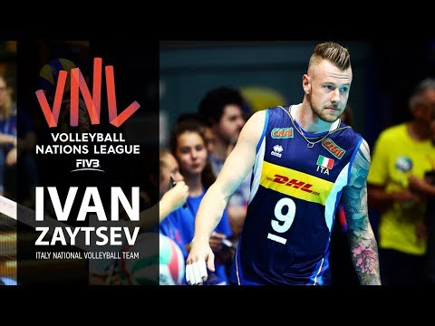 Ivan Zaytsev | Incredible Volleyball Moments | VNL - 2018