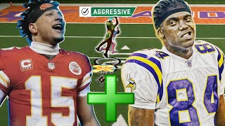 Randy Moss + Patrick Mahomes is the biggest glitch known to man...