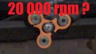 Video How Fast Can a Fidget Spinner Spin? (Before Exploding) MP3, 3GP, MP4, WEBM, AVI, FLV Oktober 2017