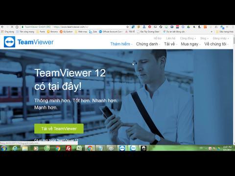 Hướng dẫn tải và cài đặt phần mềm điều khiển máy tính từ xa TeamViewer dành cho Windows