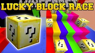 Minecraft: SECRET SPECIAL LUCKY BLOCK RACE - Lucky Block Mod - Modded Mini-Game