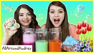 Video Spring Bath Bomb Challenge / AllAroundAudrey MP3, 3GP, MP4, WEBM, AVI, FLV September 2018