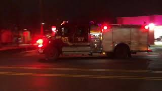 Minneapolis Fire - Engine 7 Responding - 12-07-19