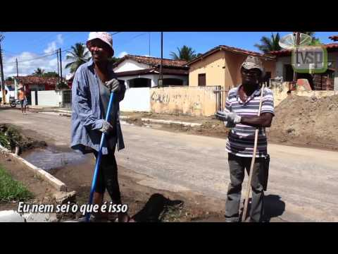 Trabalho escravo em Cardeal da Silva, garis recebem menos de um salário mínimo