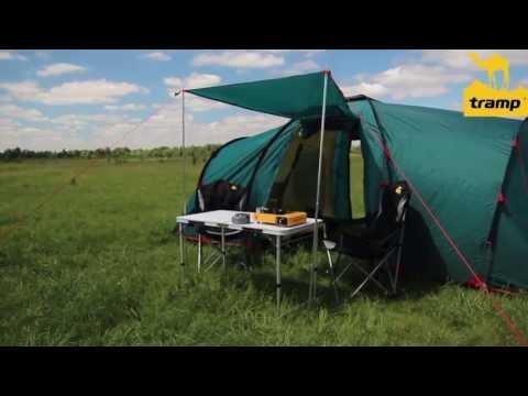 Відеоогляд кемпінгової палатки Tramp Brest 4