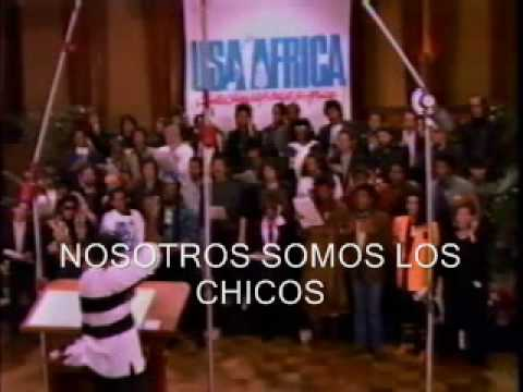 0 Video We Are The World   Usa For Africa (25 Aniversario)