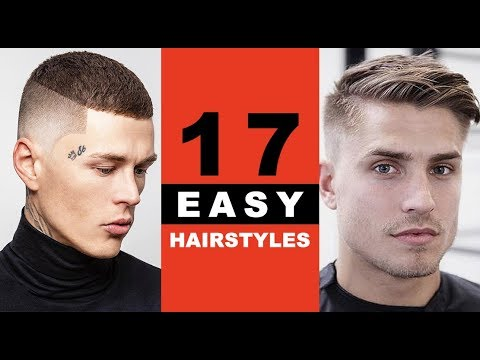 Mens hairstyles - 17 Low Maintenance Hairstyles For Men - 2019 Styles Only!
