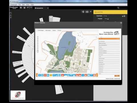 Visual Knowledge Management – Wolsztyn – example in Goalscape