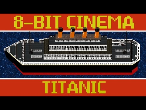 Titanic Summarised In Retro 8-Bit Video Game Style Is Pretty Fun
