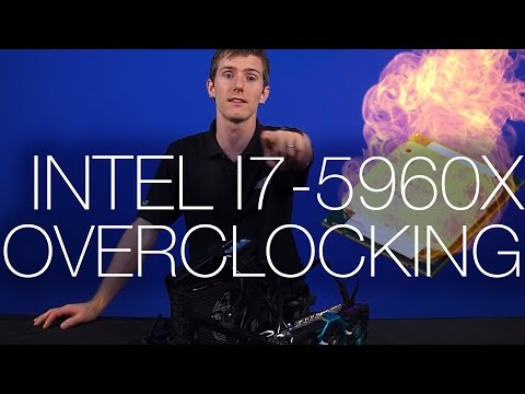 I7 - We got our hands on the new Haswell-E 5960X from Intel. We of course immediately overclocked it as far as we could push it in as short amount of time as poss...