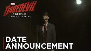Marvel's Daredevil: Season 3 | Date Announcement [HD] | Netflix