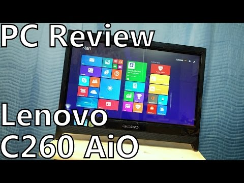 PC Review: Lenovo C260 - Touchscreen Windows 8.1 Budget AiO