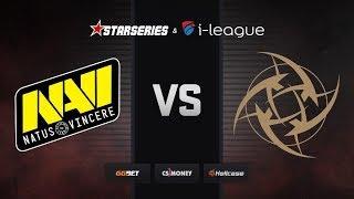 [RU] Natus Vincere vs NiP | Map 1 – Dust2 | StarSeries i-League Season 7