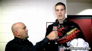 Marshall Plumlee - 2011 McDonald's All American Game (Interview & Practice Highlights)