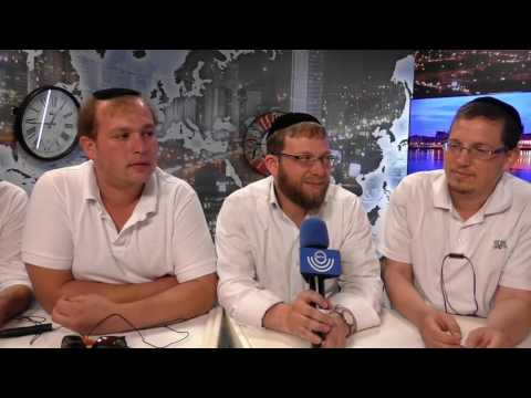 Izraeli zarándokok Budapesten