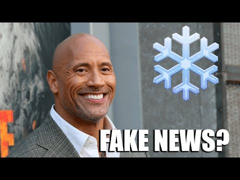 """The Rock Says """"Generation Snowflake"""" Story Is FAKE NEWS!"""