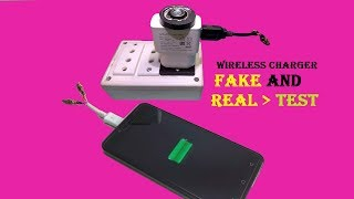 How To Make A Wireless cell phone  Charger  Fake or Real testing Must Watch
