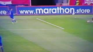 Perú 1 Paraguay 0 Gol de Cueva primer tiempo