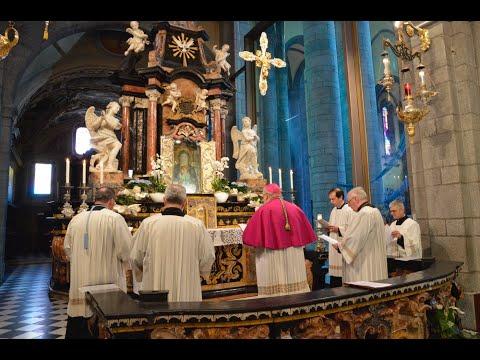 Supplica di mons. Franco Giulio Brambilla alla Madonna di Re