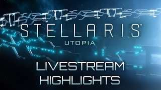 Stellaris: Utopia - Livestream Highlights - The Rise of Space Rome Video