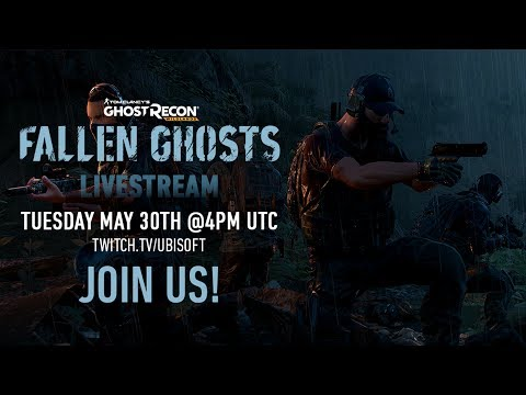 Ghost Recon Wildlands Fallen Ghosts Livestream