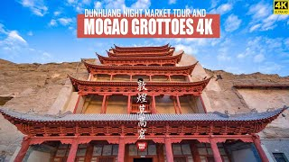 MoGao Grottoes and DunHuang night market tour