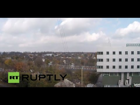 live - LIVE camera is now placed in the Northwestern part of Donetsk (Kievskyi district), pointed towards Donetsk airport. Facebook: http://www.facebook.com/Ruptly Twitter: http://twitter.com/Ruptly...