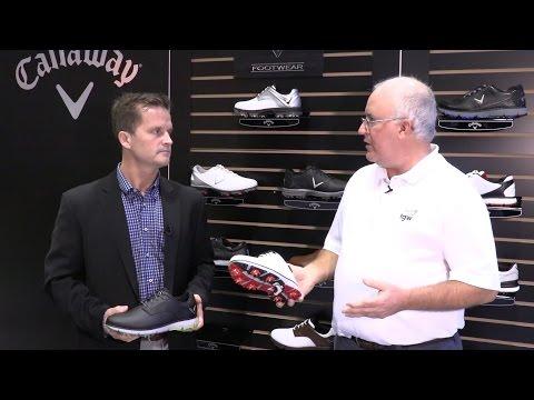 Callaway Mens Coronado Golf Shoes at the 2017 PGA Show