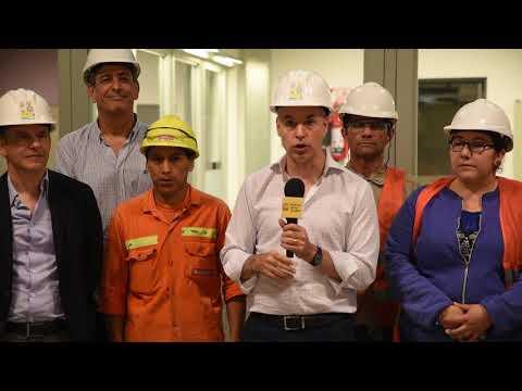 Rodríguez Larreta recorrió las obras de las tres nuevas estaciones de la Línea E de subte